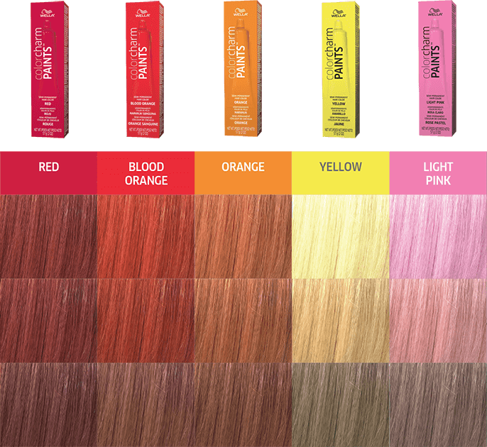 Colorcharm Paints Wella