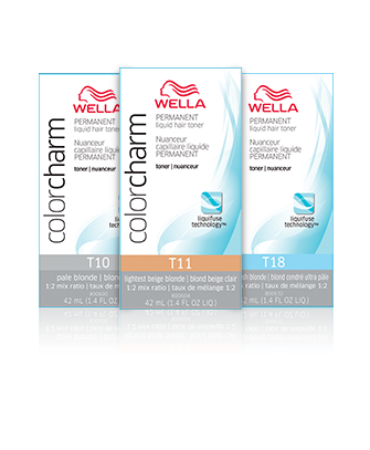 Permanent Liquid Toners Color Charm By Wella Professionals