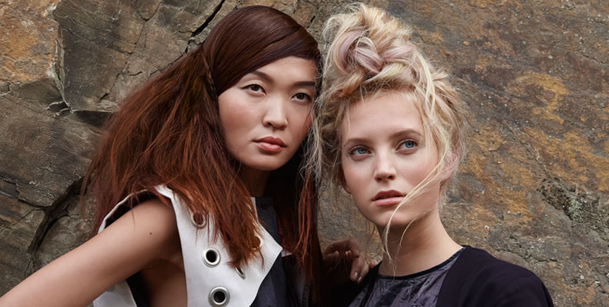 marbled colors and untamed textures - Color Touch Wella Mode D Emploi