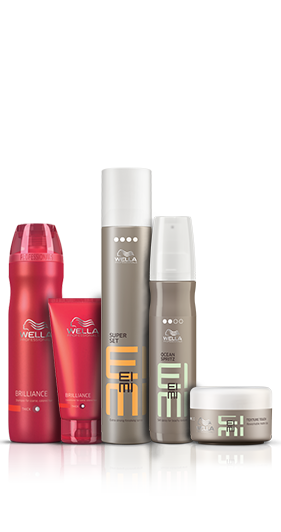 Created with Brilliance Shampoo and Conditioner, Ocean Spritz Beach Texture Spray & Super Set Finishing Spray