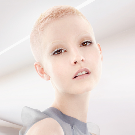 Wella TrendVision Distilled Pink hair look