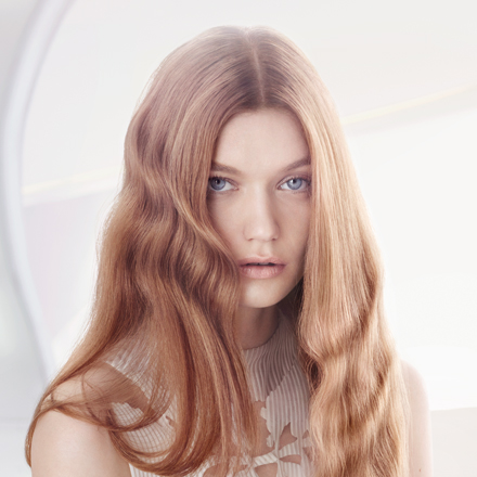 Wella TrendVision Iconic Gold hair look