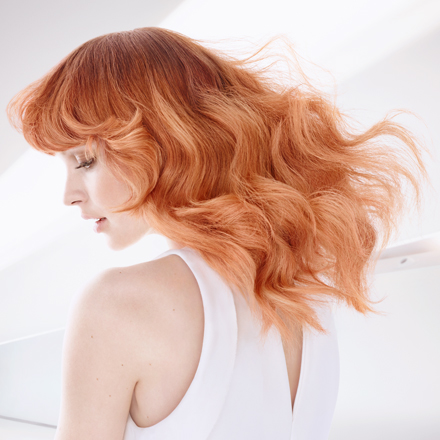 Wella TrendVision Powdered Red hair look