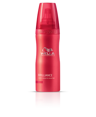 Wella Brilliance Leave-in Mousse for Coloured hair