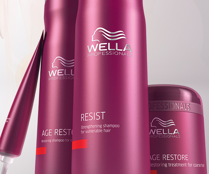 Anti aging hair care collection wella professionals - Wella salon professional hair products ...