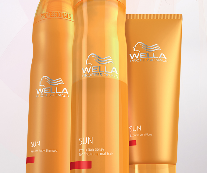 Wella Sun group packshots