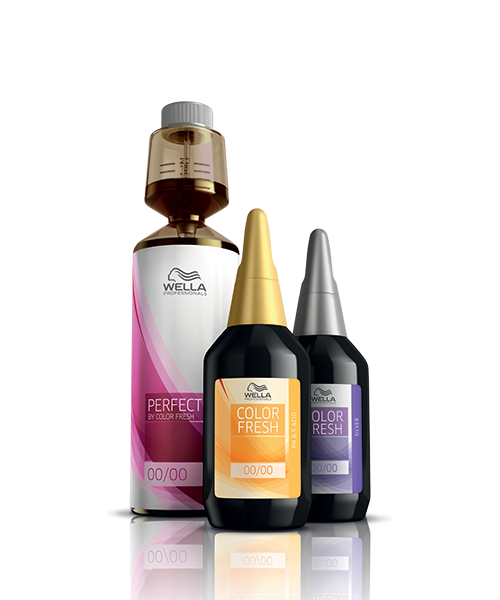 Wella Color Fresh packshots