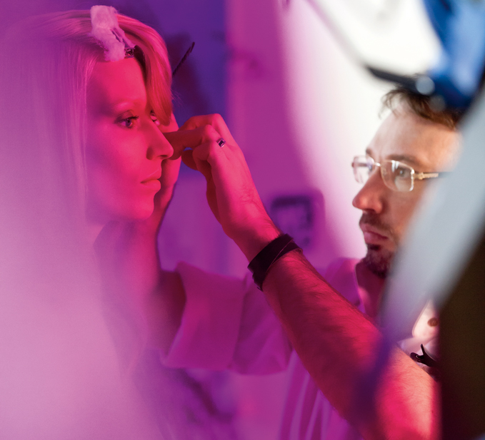 Wella TrendVision Behind the Scenes