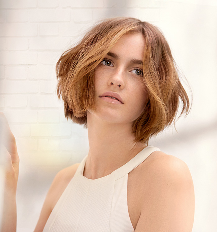 Wella TrendVision Undone Color.id look