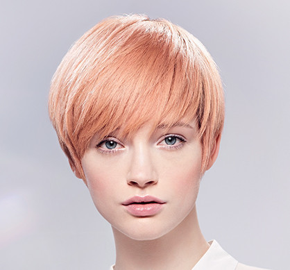wella illumina color short strawberry blonde look - Illumina Color Wella Nuancier