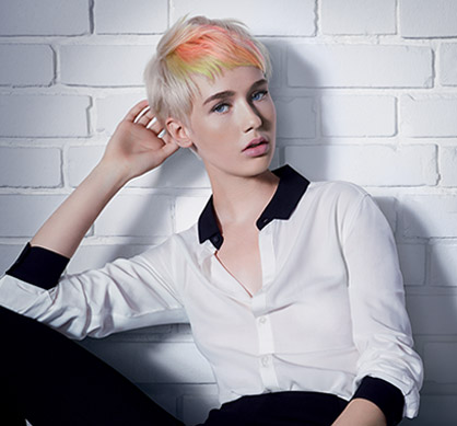 Wella Undone Collection Blondor Look