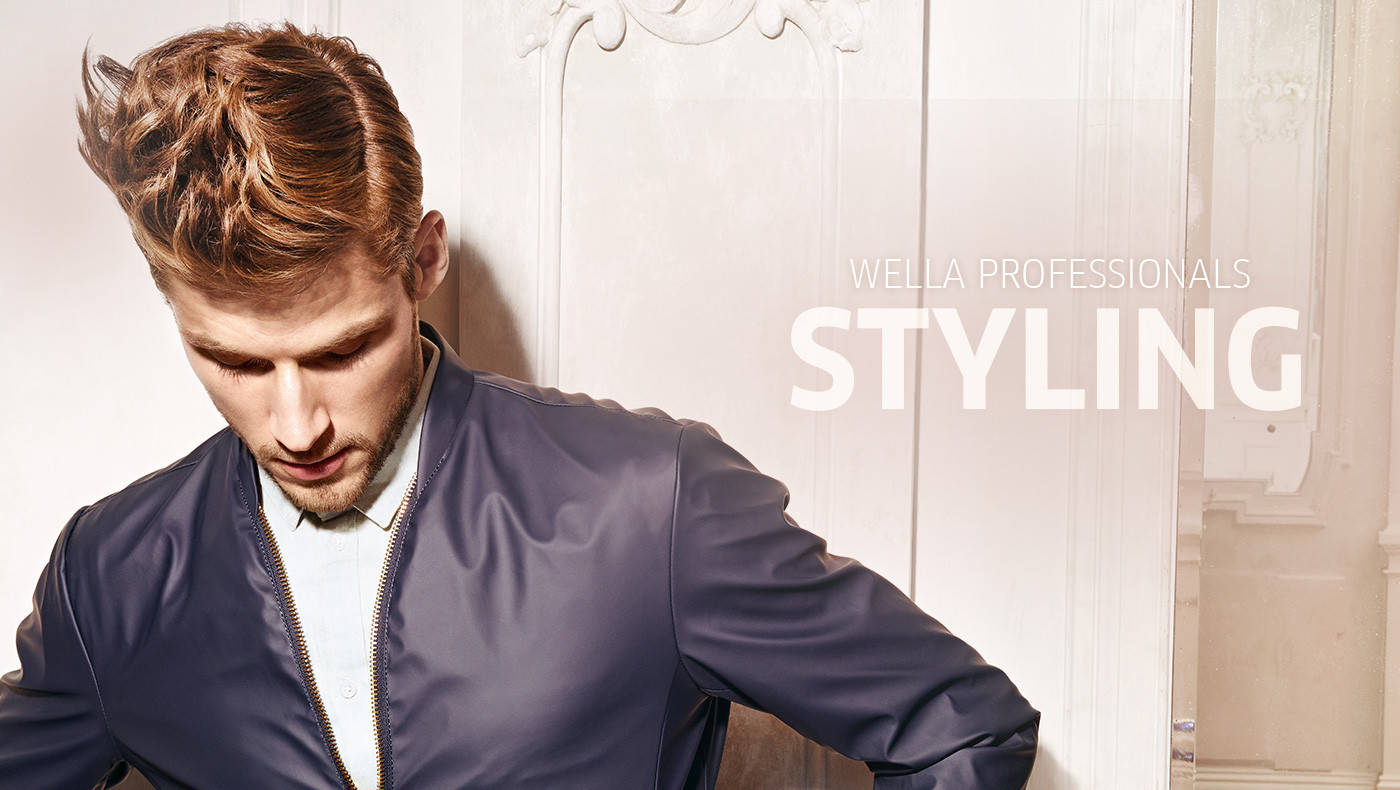 Wella Professionals Styling look male