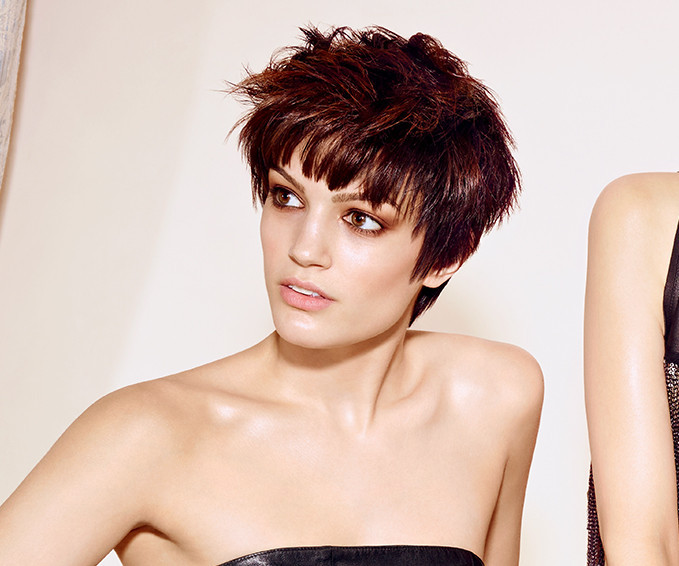 Wella styling short hair