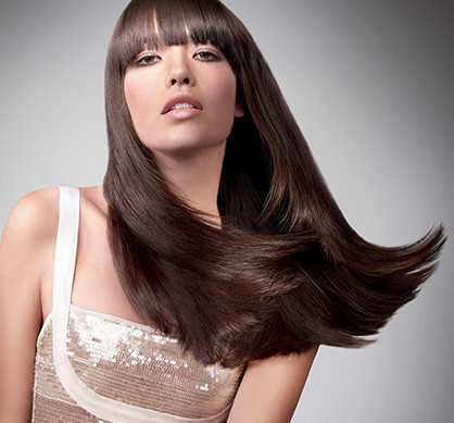 Wella Texture Straight look