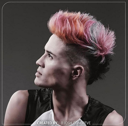 Men S Bleached And Platinum Dyed Hairstyles