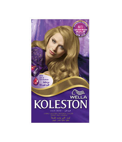 KOLESTON KIT LIGHT ASH BLONDE 8/1