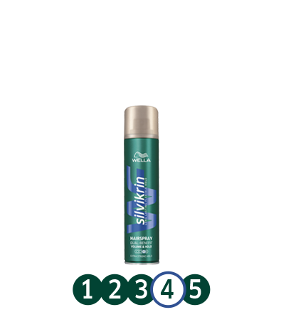 SILVIKRIN Volume & Hold Hairspray 75ml