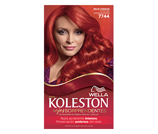 Kit 7744 Rojo Cobrizo Intenso