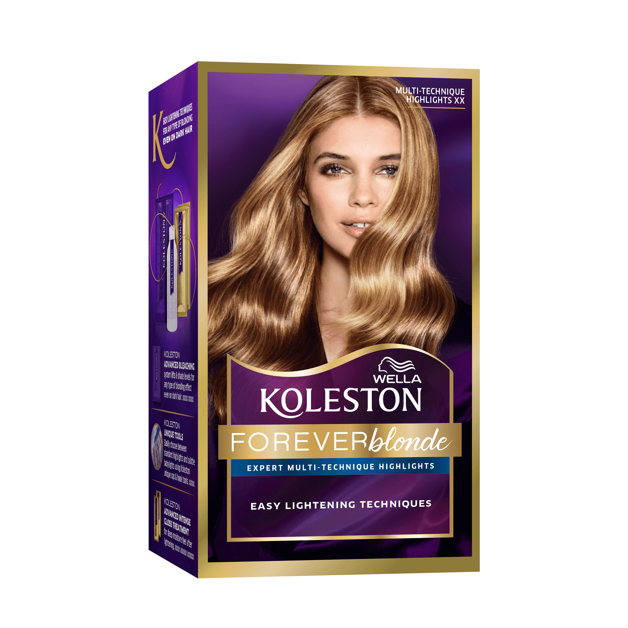 Wella Koleston Permanent Hair Color Cream Multi Technique Highlights Wella
