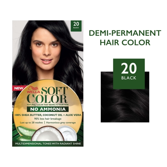 Soft Color, Natural hair color without Ammonia and with 100 ...