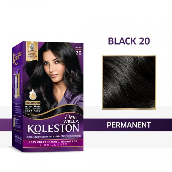 Wella Koleston Permanent Hair Color Cream With Water ...