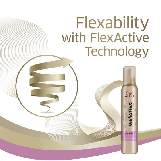 wellaflex sensitive mousse