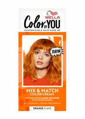Mix & Match Color Cream Orange Flame