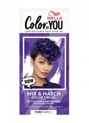 Mix & Match Color Cream Pure Purple