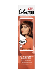 One Wash-Away Color Gel Copper'Ful