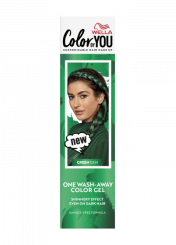 One Wash-Away Color Gel Green Gem