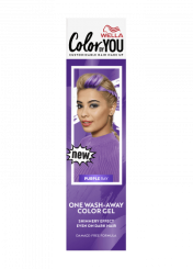 One Wash-Away Color Gel Purple Ray