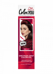 One Wash-Away Color Gel Red Ruby
