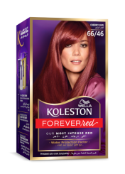 Permanent Hair Color Cream Cherry Red 6646