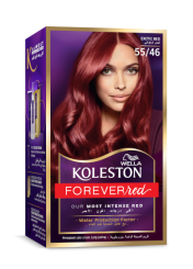 Permanent Hair Color Cream Exotic Red 5546