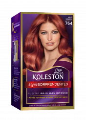 Permanent Hair Color Cream Red Fashion 764