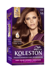 Permanent Hair Color Cream Mahogany 55